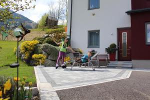 Patio nebo venkovní prostory v ubytování Haus Lorenz