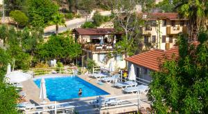 The swimming pool at or near Flower Hotel Patara