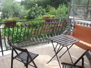 Balcone o terrazza di Elios Residence Hotel