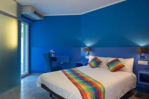 Ein Zimmer in der Unterkunft Hotel Liberty