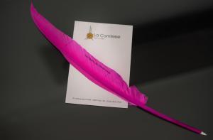 A certificate, award, sign or other document on display at Hôtel La Comtesse