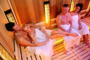 Lázně a/nebo wellness v ubytování Hotel Aqualand Inn
