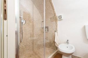A bathroom at Nel cuore di Narni
