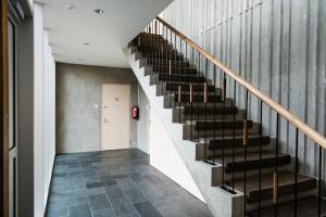 Fuajee või vastuvõtt majutusasutuses Kuressaare Marina Apartment