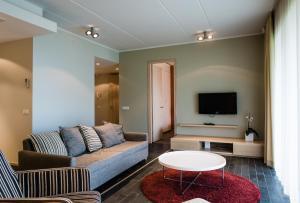 Sohvabaar või baar majutusasutuses Kuressaare Marina Apartment