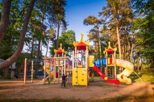 Детская игровая зона в Апартаменты Alt Platz