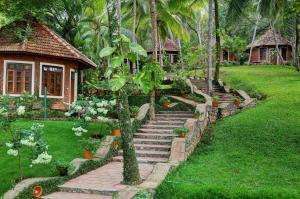 A porch or other outdoor area at Soma Manaltheeram Ayurveda BeachVillage