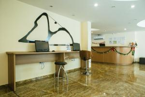 The lobby or reception area at Gamboa Rio Hotel