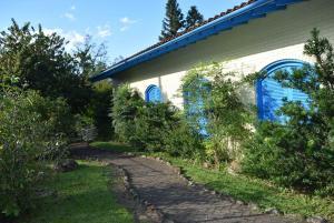 A garden outside Pousada Saint Gottard