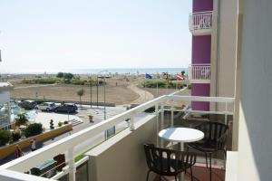 Balcone o terrazza di Hotel Benvenuto