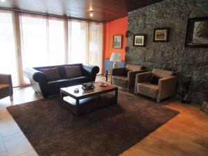 Zona de estar de Casa da Paioca