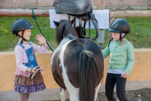 Children staying at Landhaus zur Ohe