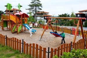 Children's play area at Santa Marina Holiday Village