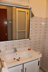 A bathroom at Hotel Sindibad