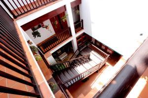 A balcony or terrace at La Casita di Fuerte