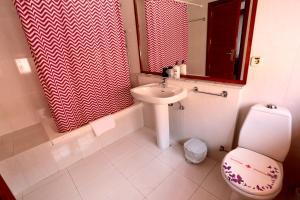 A bathroom at La Casita di Fuerte