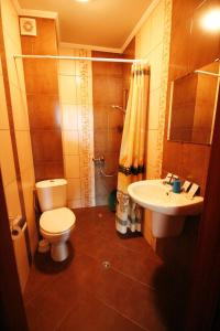 A bathroom at Hotel Marant