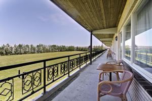 A porch or other outdoor area at Van der Valk Hotel Groningen Zuidbroek