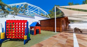 Children's play area at Globales Montemar