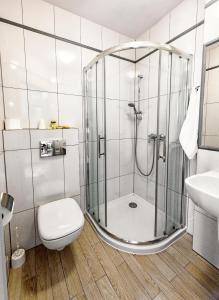 Salle de bains dans l'établissement Hotel Kazimierz III