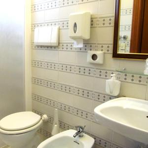 Ванная комната в Hotel Romagna