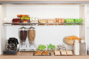 Coffee and tea making facilities at hotelF1 Sens Nord
