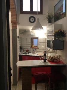 Una cocina o zona de cocina en Conte Canacci