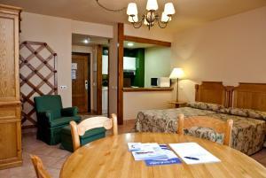 Zona de estar de Hotel Apartamentos Trevenque