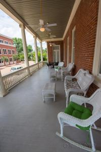 A seating area at The Guest House Historic Mansion