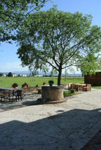 Patio o area all'aperto di Antiche Dimore San Felice