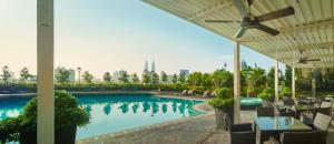 The swimming pool at or near Sunway Putra Hotel, Kuala Lumpur