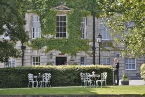 A garden outside Best Western Plus Aston Hall Hotel