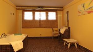 A seating area at Gran Sasso Family Hotel Miramonti