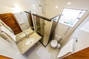 A bathroom at Portinari Residence