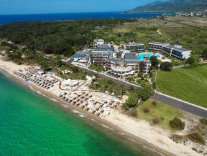 A bird's-eye view of Ilio Mare Hotel