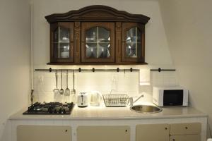 Kuchnia lub aneks kuchenny w obiekcie MiłoTu - Apartament Uniwersytecki