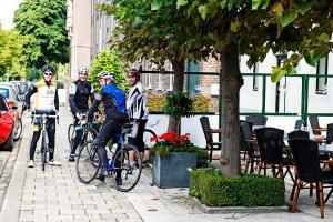 Cycling at or in the surroundings of In den Roden Leeuw van Limburg