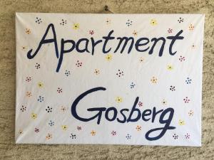 Ein Zertifikat, Auszeichnung, Logo oder anderes Dokument, das in der Unterkunft Apartment Gosberg - 90qm ausgestellt ist