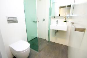 A bathroom at The Landing Port Hedland