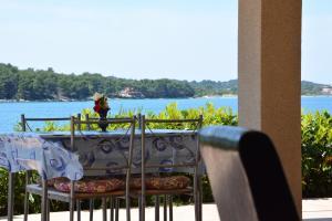 Balcon ou terrasse dans l'établissement Apartments Buturi