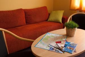 Lounge nebo bar v ubytování Apartmány REKO Kadaň