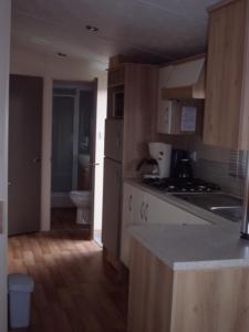 Küche/Küchenzeile in der Unterkunft Camping Ter Hoeve