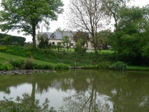 A garden outside Fermette dans les pays de la Loire