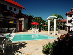 A piscina localizada em Residencial Sol e Mar de Floripa ou nos arredores