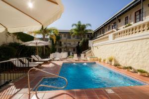 The swimming pool at or near Don Antonio Posada