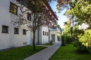 Сад в DJH Jugendherberge Heringsdorf