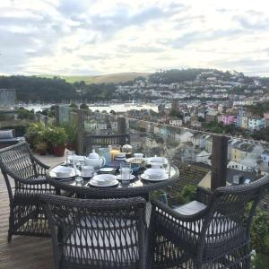 A general view of Dartmouth or a view of the city taken from the bed & breakfast