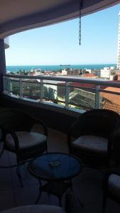 A balcony or terrace at Flat Studio Iracema apto 602