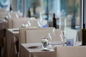 A restaurant or other place to eat at Aqualux Hotel Spa & Suite