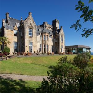 A garden outside Stonefield Castle Hotel 'A Bespoke Hotel'